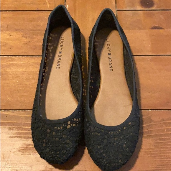 Lucky Brand Shoes - Lace flats